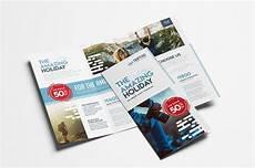 A Brochure Format Travel Company Trifold Brochure Brochure Templates