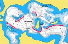 Cass Lake Depth Chart Cass Lake Minnesota Northland Fishing Tackle