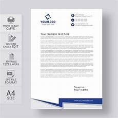 Creative Letterhead Samples Simple Letterhead Template Free Download Print Ready