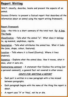 Template For A Report 19 Report Writing Examples Examples