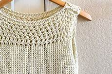 knitting summer ravelry summer vacation top pattern by reeves potasz