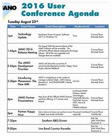 Sample Of Program Agenda Free 21 Conference Agenda Examples Amp Samples In Pdf Doc