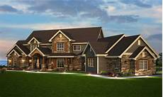 5 bedroom house plan luxury transitional style 5164 sq ft