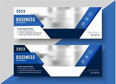 Banner Design Corporate Blue Banner Design For Your Business Download