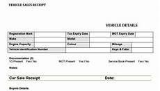 car sales receipt template used car sales receipt template free flipping
