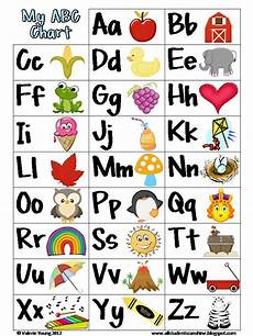 Alphabet And Number Wall Charts Free Printable Abc Chart Kindergarten Abc Chart Abc