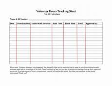 Hours Tracking Spreadsheet Volunteer Hour Tracking Spreadsheet Db Excel Com