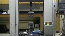 Tensile Test Mse Composite Tensile Test Experiments Youtube