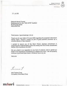Child Support Letters Section 59 The Yes Vote Nz Referendum On Child
