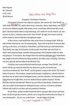 Essay On Hard Work Christopher Columbus Essay