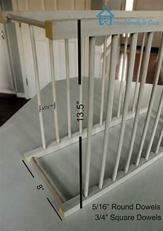 diy inside cabinet plate rack remodelando la casa