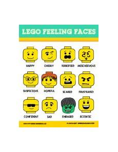 Lego Feelings Chart Resources For Kids Dr Kate