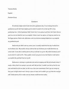 Narrative Essay About Yourself Graduation Narrative Essay