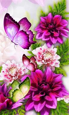 Flower Cell Phone Wallpaper by Flowers And Butterflies 480 X 800 Wallpapers