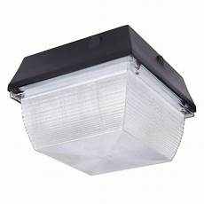 Square Canopy Light 60w Led Canopy Light 5100lm Square Canopy Lighting Le 174