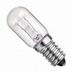 240 Volt 15 Watt Light Bulb 240 Volt 15 Watt Screw In 14mm T25x49mm Clear Appliance