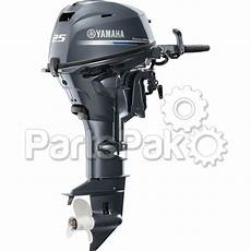 Yamaha F25lmhc F25 25 Hp Long Shaft 20 Quot Manual Start