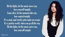 Hit The Lights Lyrics Selena Gomez Youtube Selena Gomez Amp The Scene Hit The Lights Lyrics Youtube