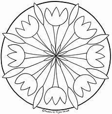 Blumen Malvorlagen Kostenlos Zum Ausdrucken Pdf Mandalas Zum Ausdrucken F 252 R Grundschulkinder 1 2