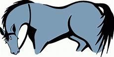 blaues pferd ausmalbild malvorlage tiere
