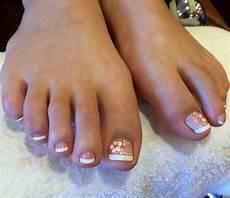 French Tip Toe Designs 44 Toe Nail Art Designs Ideas Design Trends Premium
