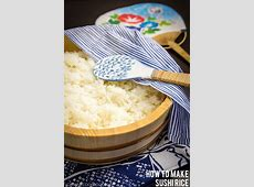 How To Make Sushi Rice ? Just One Cookbook