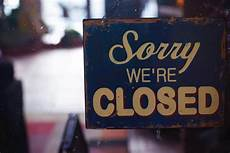 Closed For Business Sign The Coronavirus Impact On Small Business New York