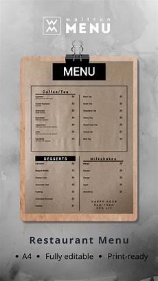 Every Trendy Restaurant Menu создай стильное меню онлайн Create A Trendy Menu Online