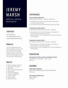 Modern Picture Resume Customize 890 Modern Resume Templates Online Canva