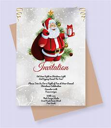 Free Christmas Invitation Templates Word Free Christmas Invitation Template For Coming Holiday