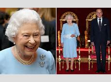 The Queen wears 18th birthday gift from King George VI and