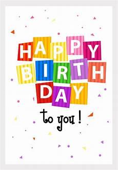 Printable Happy Birthday Cards Online Free Printable Happy Birthday Confetti Greeting Card From