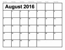 Printable Calendar August August 2018 Printable Calendar Blank Templates