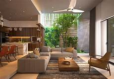 interior of homes 4 homes that feature green spaces inside with courtyards