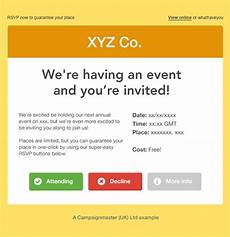 Online Email Invitations How To Create A Perfect Email Invitation Campaignmaster