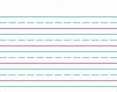 Printable Lined Paper For Kindergarten Trend Enterprises Handwriting Paper Wipe Off 174 Charts