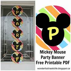 Mickey Mouse Printables Free It S My Wonderful Chaotic Life Mickey Mouse Birthday