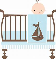 library of baby in crib vector royalty free