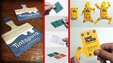 Interesting Business Card 100 Inspiring Examples Of Creative Business Cards Youtube