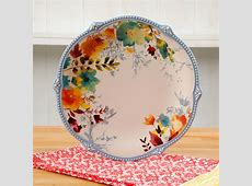 The Pioneer Woman Willow 10.75 Inch Dinner Plate, Set of 4