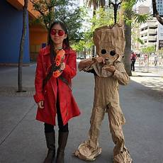sesame clothes groot svcc day 3 paper bag baby groot was a smash hit at one