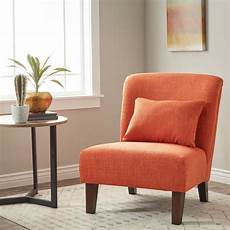 orange accent chairs shop orange accent chair as is item free