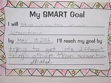 Example Of Goals Setting Almost Smart Goals With My Students Scholastic