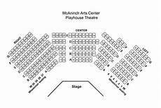 Highland Arts Theatre Seating Chart Playhouse Theatre Mcaninch Arts Center