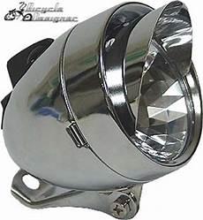Bullet Bike Light Led Bullet Light With Visor Chrome