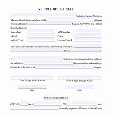 Free Car Bill Of Sale Pdf Free 12 Sample Vehicle Bill Of Sale Templates In Pdf Ms