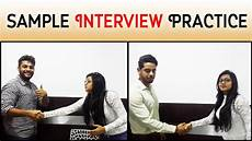 Sample Interview Sample Interview Practice Questions And Answers Part 1