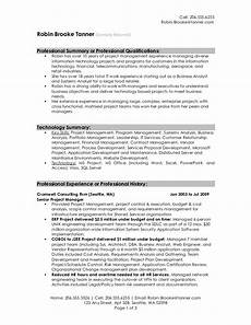Summary Of Resume Sample Resume Summary Examples