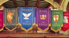 Diy Church Banners Church Banners Names Of Christ From Praisebanners Youtube