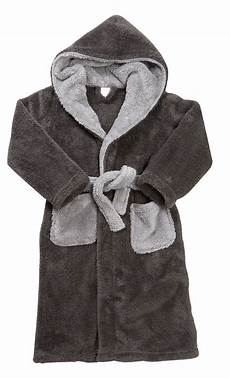 boys luxury fleece dressing gown hooded bath robe